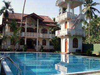 Отель Romantic Villa 4* Берувела Шри-Ланка
