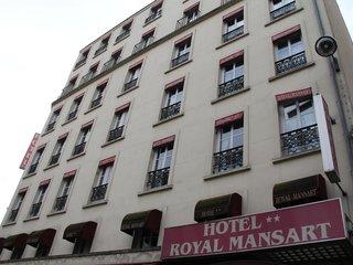 Отель Royal Mansart Hotel 2* Париж Франция