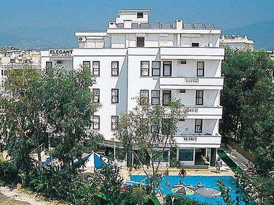 Отель Elegant Apartments & Hotel 2* Алания Турция