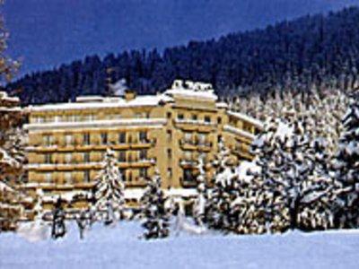 Отель Grand Hotel du Parc 5* Виллар Швейцария