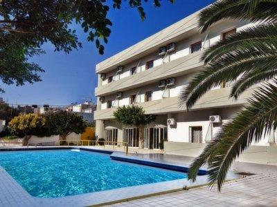 Отель Porto Plazza Hotel 3* о. Крит – Ираклион Греция