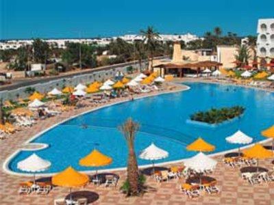Отель Sidi Mansour 4* о. Джерба Тунис