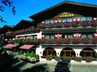 Отель Zur Burg 4* Капрун Австрия