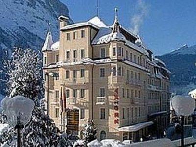 Отель Grand Regina 5* Гриндельвальд Швейцария