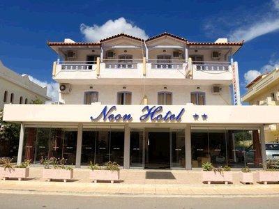 Отель Neon Hotel 2* о. Крит – Ираклион Греция