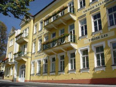 Отель Tri Lilie 4* Франтишкове Лазне Чехия