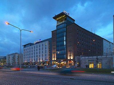 Отель Radisson Blu Seaside Hotel 4* Хельсинки Финляндия