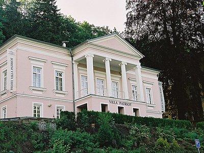 Отель Villa Patriot 3* Марианске-Лазне Чехия