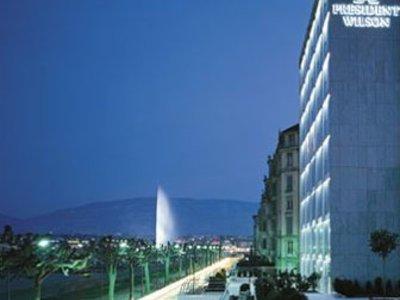 Отель President Wilson 5* Женева Швейцария