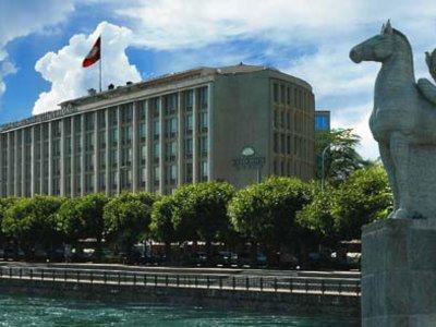 Отель Du Rhone Mandarin Oriental 5* Женева Швейцария