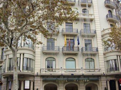 Отель Majestic 5* Барселона Испания