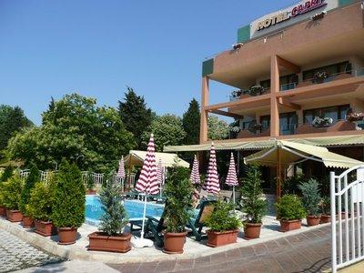 Отель Капри 3* Несебр Болгария