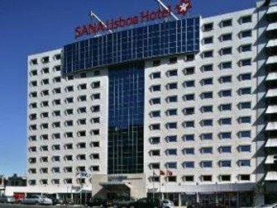 Отель Sana Lisboa Park Hotel 4* Лиссабон Португалия