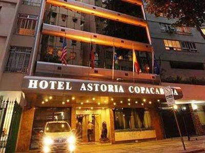 Отель Astoria Copacabana 3* Рио-де-Жанейро Бразилия