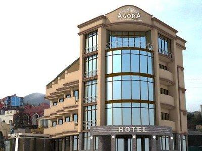 Отель Агора 4* Алушта Крым