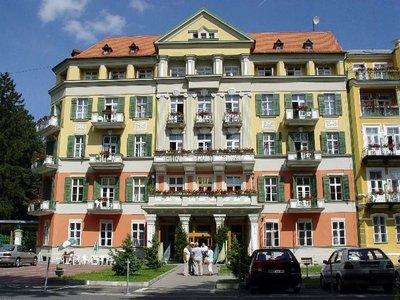 Отель Pawlik 4* Франтишкове Лазне Чехия