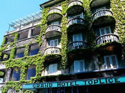Отель Grand Hotel Toplice 5* Блед Словения