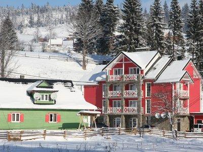Отель Ski-Хата 2* Буковель (Поляница) Украина - Карпаты