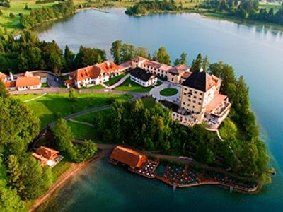 Отель Schloss Fuschl 5* Зальцбург Австрия