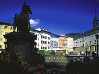 Отель Goldener Hirsch 5* Зальцбург Австрия