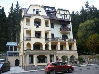 Отель Saint Moritz Spa & Wellness Hotel 4* Марианске-Лазне Чехия