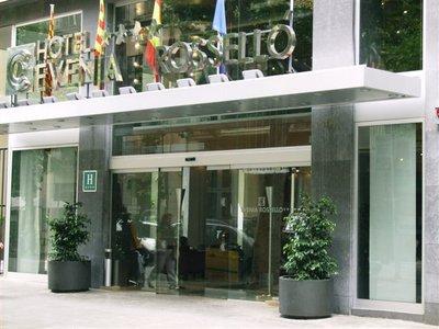 Отель Evenia Rossello Hotel 4* Барселона Испания