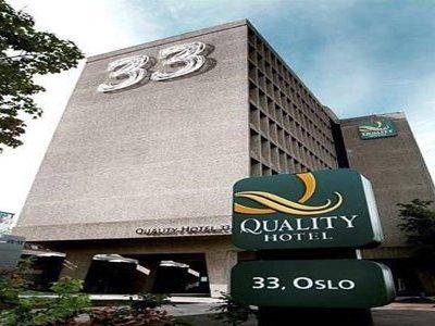 Отель Quality Hotel 33 4* Осло Норвегия