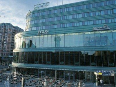 Отель Scandic Byporten 4* Осло Норвегия