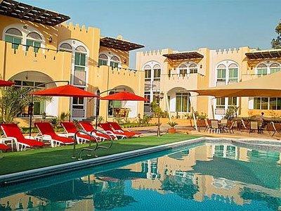 Отель Caravan Resort Ajman 4* Аджман ОАЭ