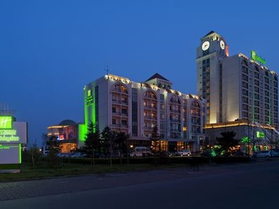 Отель Holiday Inn Sea View Qinhuangdao 5* Бэйдайхэ Китай
