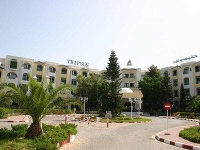 Отель Club Thapsus 3* Махдия Тунис