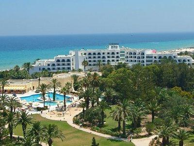 Отель Marhaba Beach 4* Сусс Тунис