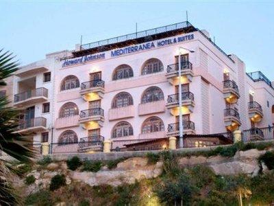 Отель The Mediterranea Hotel & Suites 4* Сан Паула Бей Мальта