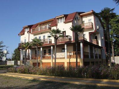 Отель Самшит 555 3* Пицунда Абхазия