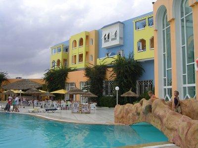 Отель Hawai Beach Club Hotel 3* Хаммамет Тунис