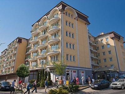Отель Palace Hotel Heviz 4* Хевиз Венгрия