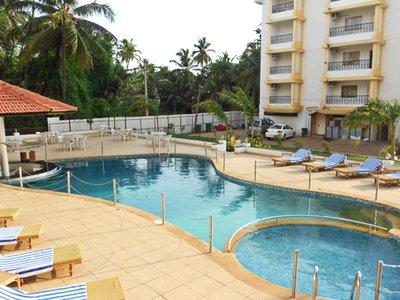 Отель Colva Kinara Hotel 3* Южный Гоа Индия