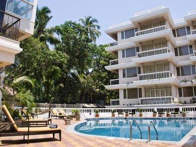 Отель Quality Inn Ocean Palms Goa 4* Северный Гоа Индия