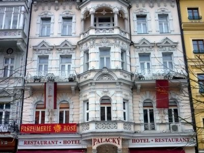 Отель Palacky 3* Карловы Вары Чехия