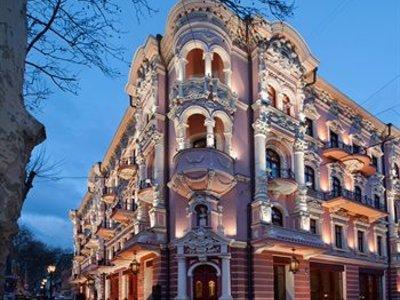 Отель Queen Valery Hotel 4* Одесса Украина