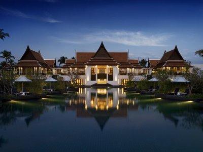 Отель JW Marriott Khao Lak Resort & Spa 5* Као Лак Таиланд