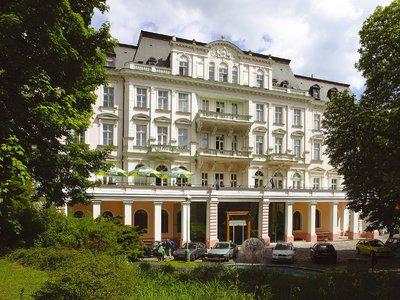 Отель Cisarske Lazne 4* Теплице Чехия
