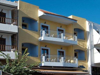 Отель Blue Island Hotel 2* о. Крит – Ираклион Греция
