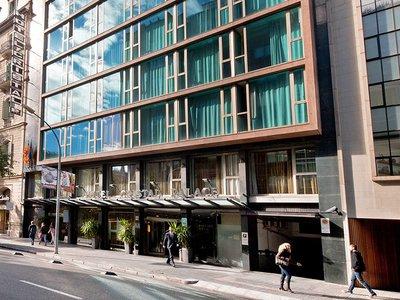 Отель Exe Cristal Palace 4* Барселона Испания
