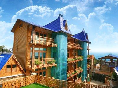 Отель Княжий Град 2* Гаспра Крым