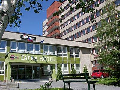 Отель Tatra Hotel 3* Попрад Словакия