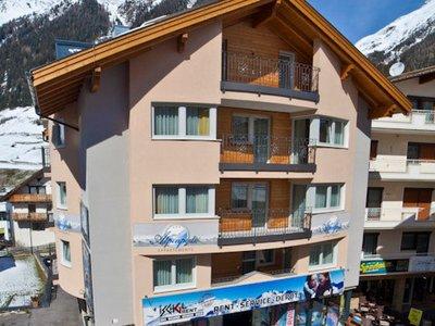 Отель Alpenperle Apartments 3* Ишгль Австрия
