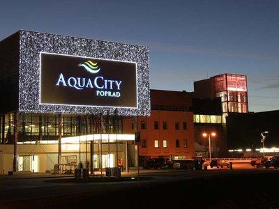 Отель Aquacity Riverside 3* Попрад Словакия