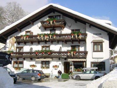 Отель Alpenrose Pension 2* Цель ам Зее Австрия