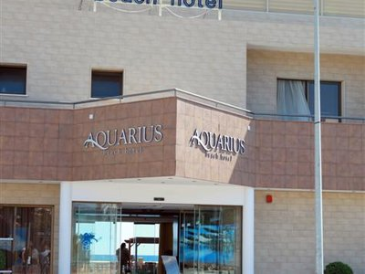Отель Aquarius Beach Hotel 2* Лимассол Кипр